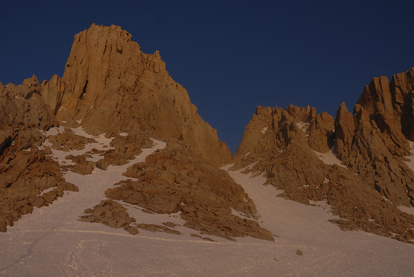 Mt. Whitney, Mountaineers Route