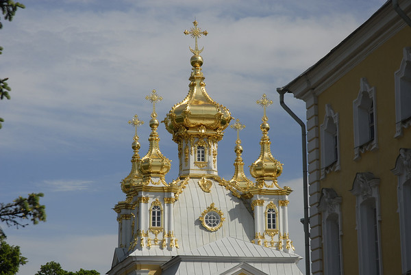 Church at Peterhof Palace, St. Petersburg